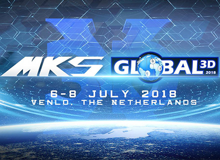 MKS is honored to support Global 3D 2018!