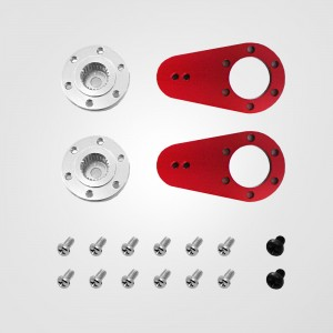 O0002015-2 Ø8mm Metal single horn package_2in1 (L:18/21 mm)