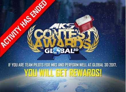 MKS Team Pilot rewards in competiton!